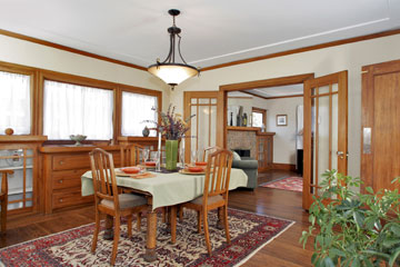 Oakland Home for Sale Dining Room